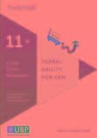 Verbal Ability for Cem 11+: Cloze Workbook