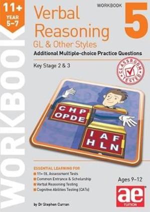 11+ Verbal Reasoning Year 5-7 Gl & Other Styles Workbook 5