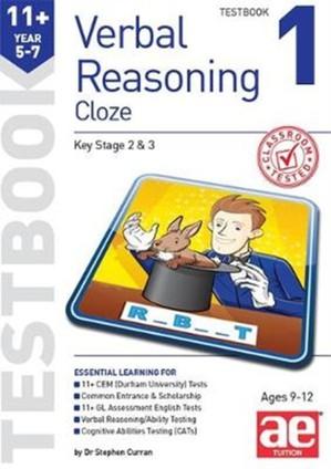 11+ Verbal Reasoning Year 5-7 Cloze Testbook 1