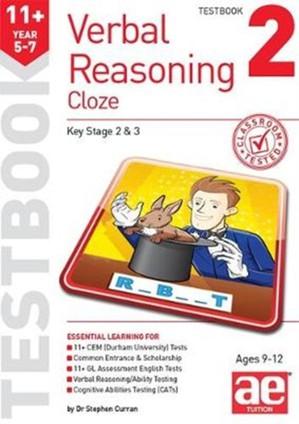 11+ Verbal Reasoning Year 5-7 Cloze Testbook 2