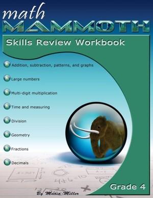 Math Mammoth Grade 4 Skills Review Workbook