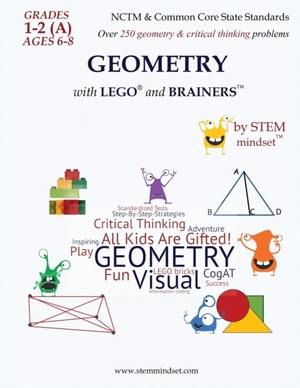 Geometry With Lego And Brainers Grades 1-2 (a) Ages 6-8 Workbook