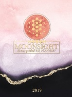 Moonsight Planner - Moon Phase Business Calendar - 2019 (12-month Weekly- Rose Quartz)
