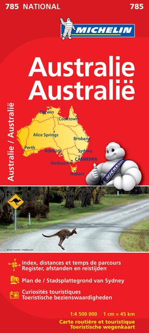 MICHELIN 785 AUSTRALIE