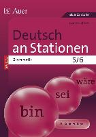 Deutsch an Stationen SPEZIAL Grammatik 5-6