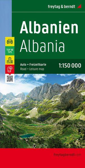 F&B Albanie Albania 1:150.000