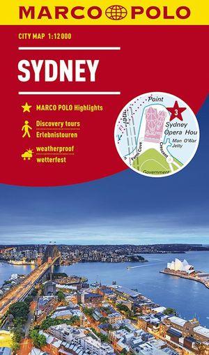 MARCO POLO Cityplan Sydney 1:15 000