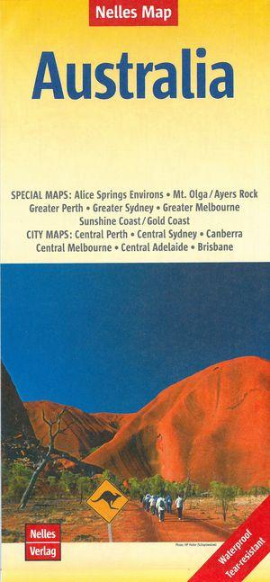 Nelles Map Australia 1:4 500 000