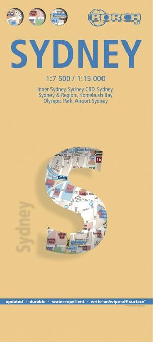 Sydney 1 : 7 500 / 1 : 15 000