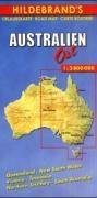 Australien Ost 1 : 2 800 000. Hildebrand's Urlaubskarte