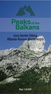 Peaks of the Balkans 1:60 000