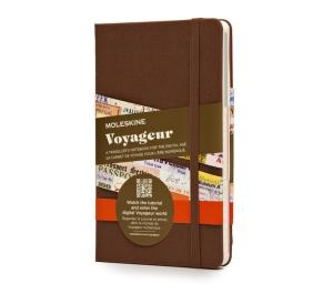 Moleskine Voyageur Nutmeg Brown Traveller's Notebook