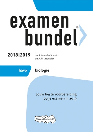 Examenbundel - havo Biologie 2018/2019