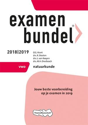Examenbundel - vwo Natuurkunde 2018/2019