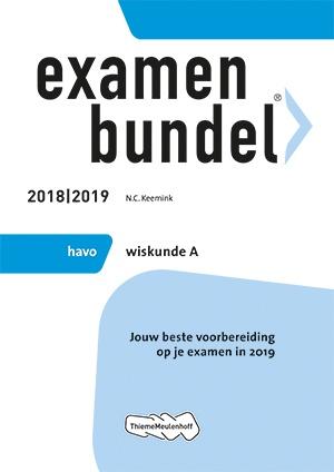 Examenbundel - havo Wiskunde A 2018/2019