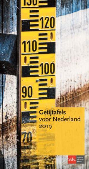 Getijtafels voor Nederland - 2019