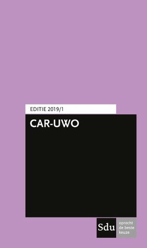 CAR-UWO Editie 2019/1