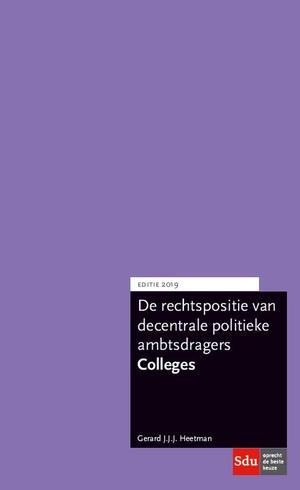 Rechtspositie Colleges 2019