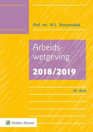 Arbeidswetgeving - 2018/2019