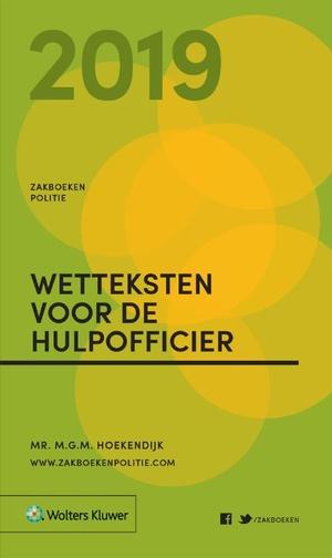 Zakboek Wetteksten voor de Hulpofficier - 2019