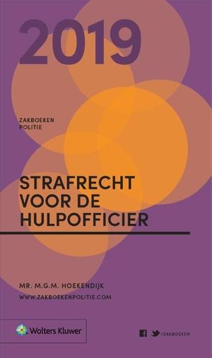 Zakboek Strafrecht voor de Hulpofficier - 2019