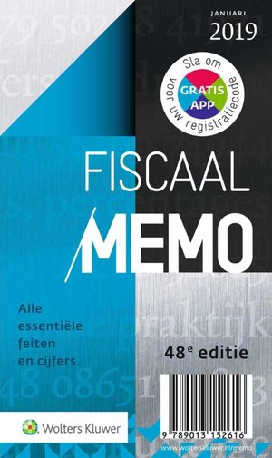 Fiscaal Memo januari 2019