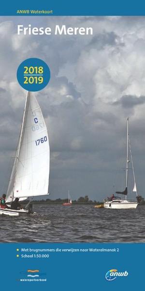 ANWB Waterkaart Friese Meren - 2018/2019