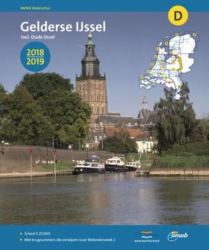 ANWB wateratlas Gelderse IJssel - 2018/2019