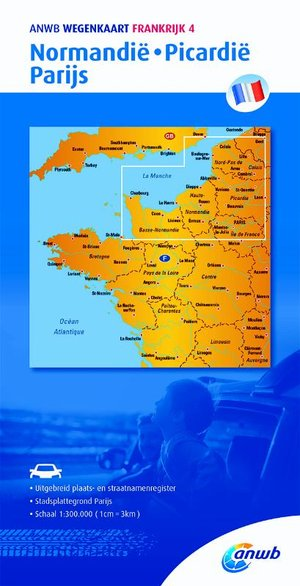 Frankrijk 4 Normandie,Picardië,Parijs