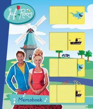 Juf Roos Memoboek (kartonboek)