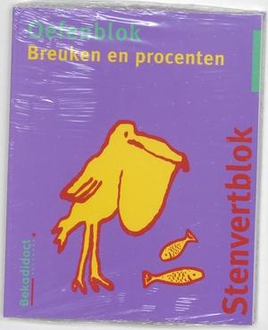 Stenvert oefenblok - Breuken en procenten Groep 7/8 5 ex