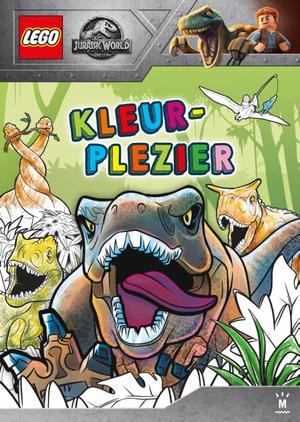 LEGO Jurassic kleurboek