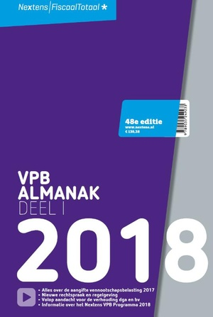 Nextens VPB Almanak - 2018 Deel 1