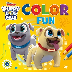 Disney Color Fun Puppy Dog Pals