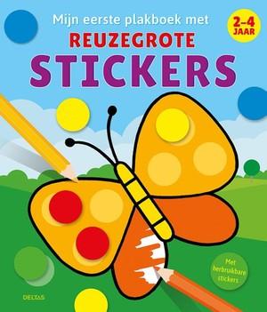 Mijn eerste plakboek met reuzegrote stickers - 2-4 jaar