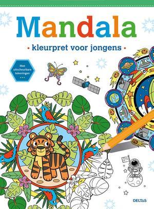 Mandala - Kleurpret voor jongens