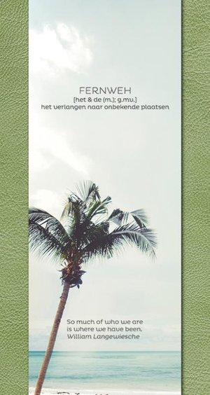 Fernweh Travel Notebook green