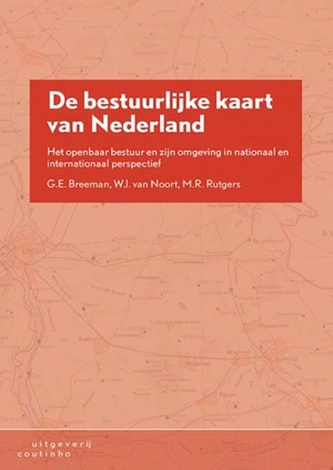 De bestuurlijke kaart van Nederland