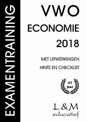 Examentraining - Vwo Economie 2018