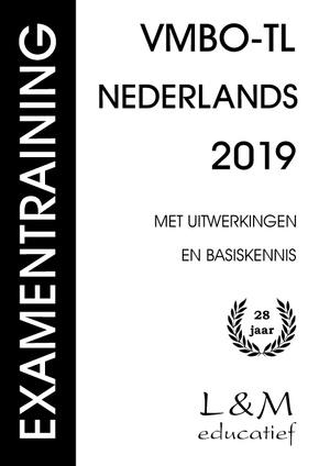 Examentraining Vmbo-tl Nederlands - 2019
