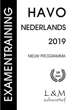 Examentraining Havo Nederlands - 2019