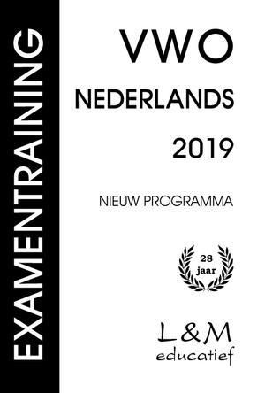 Examentraining Vwo Nederlands - 2019