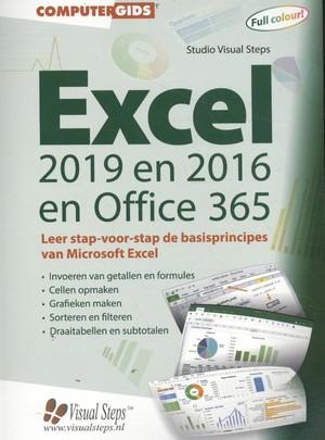 Computergids Excel 2019, 2016 en 2016 en Office 365