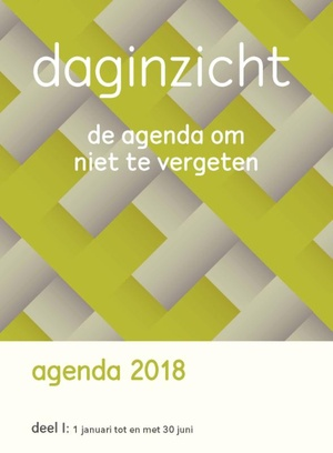 Daginzicht agenda 2018