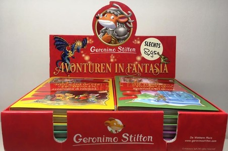 Display Avonturen in Fantasia (5 x 2 delen) (3+4)