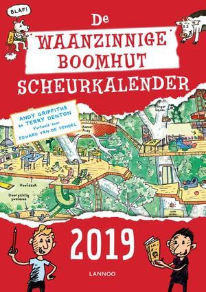 De waanzinnige scheurkalender 2019