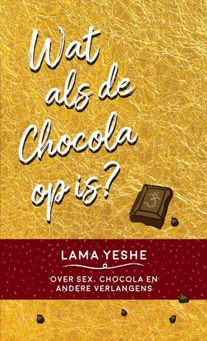 Wat te doen als de chocola op is?