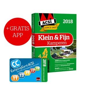 ACSI Klein & Fijn Kamperen Gids + app 2018