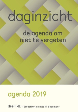 Daginzicht Agenda 2019