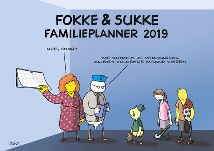 Fokke & Sukke familieplanner - 2019